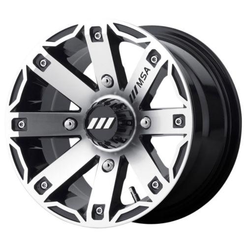 MSA WHEELS M27 Rage Wheel 12x7 - 4/110 - +10 mm
