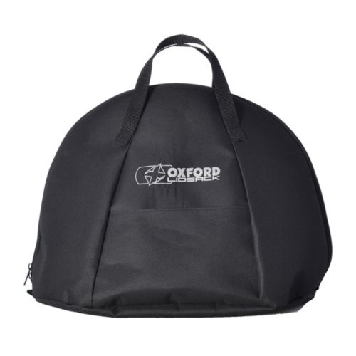 Oxford Products Lidsack Lined Helmet Carrier with Easy Access Pocket Bag