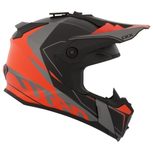 CKX Titan Original Backcountry Helmet, Winter Cliff - Without Goggle