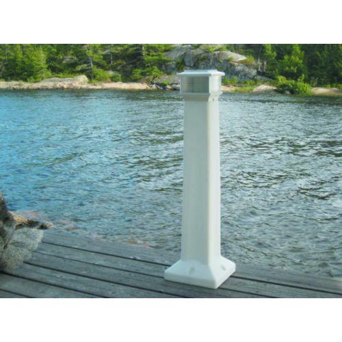 Dock Edge  Solar Sentinel Light