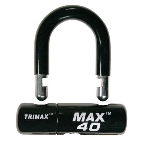 """Trimax Black """"U"""" Lock"""