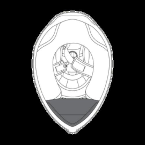 AGV K5 S Helmet Wind Protector