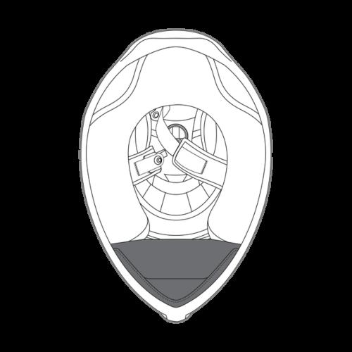 AGV K1 Helmet Wind Protector