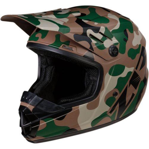 Z1R Youth Rise Camo Helmet